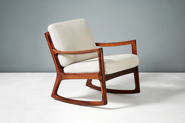 Admirable Ole Wanscher Senator Rocking Chair Ca 1960 Available For Sale Artsy Gmtry Best Dining Table And Chair Ideas Images Gmtryco