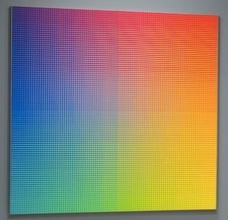 , 'II-9 (Full Sat.),' 1987, Museo de Arte Contemporáneo de Buenos Aires