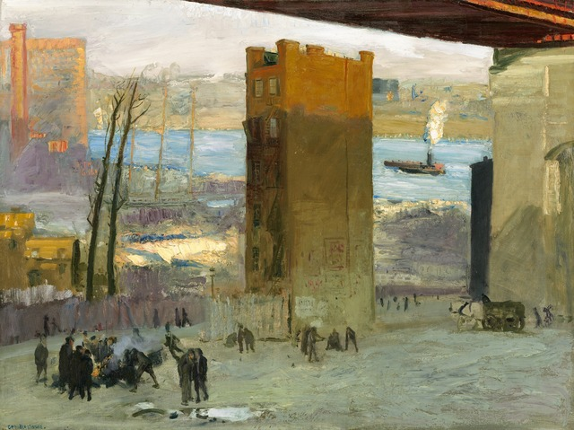 George Wesley Bellows, 'The Lone Tenement', 1909, National Gallery of Art, Washington, D.C.