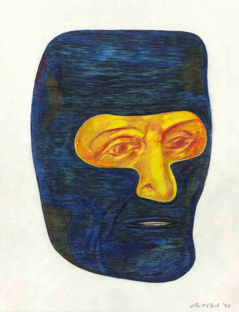 , 'Head Study 59,' 1993, CODA Gallery