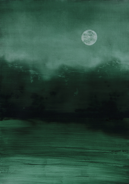 , 'Moon,' 2015, Barnard Gallery