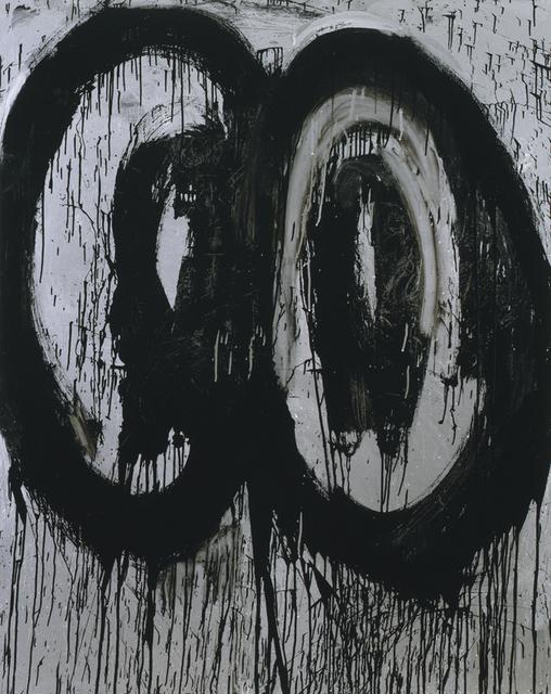 Joyce Pensato, 'Who Killed Kenny?', 2012, Painting, Metallic and enamel on linen, Petzel Gallery