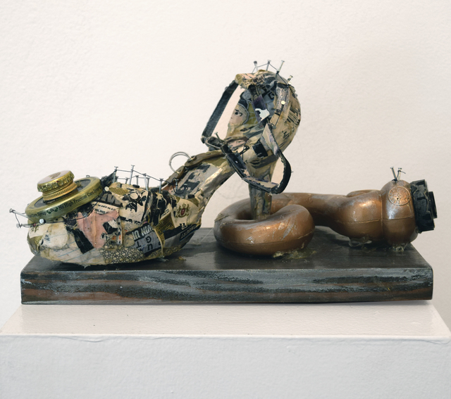 , 'Shoeing Away Rights,' 2015, Fountain House Gallery