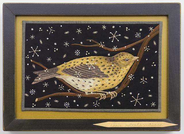 , 'Bird on Branch 4,' 2015, Antieau Gallery