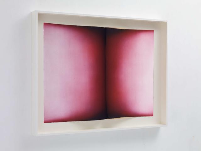 , 'Folds V, red variant,' 2016, Galerie Maximillian