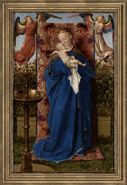 Jan van Eyck, 'St Barbara', (Date unknown), Reproduction, Giclee, ArtWise