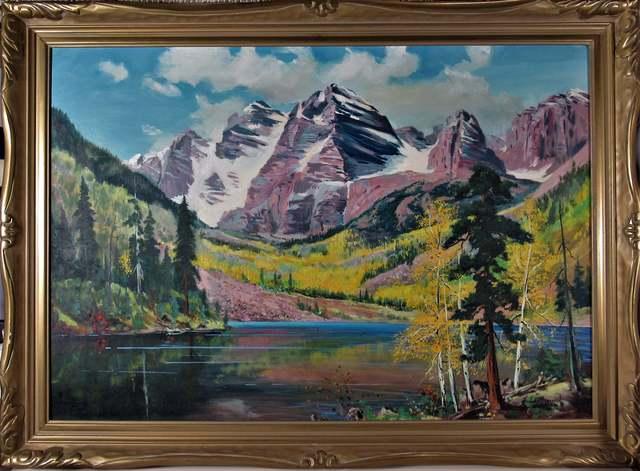 Leonard Borman, ' California Landscape', ca. 1960, Joseph Grossman Fine Art Gallery