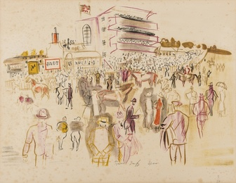 Raoul Dufy, 'Epsom,' , Forum Auctions: Editions and Works on Paper (March 2017)
