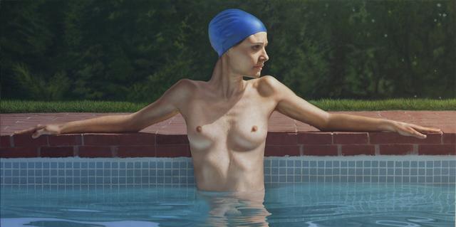 , 'Sandra in the Pool,' 2014, Bernarducci Meisel Gallery