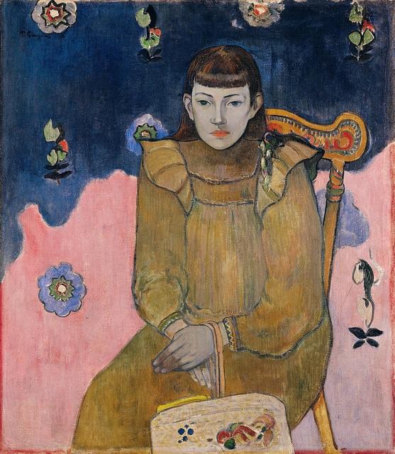 Paul Gauguin, 'Portrait of a Young Woman. Vaïte (Jeanne) Goupil', 1896, Ordrupgaard