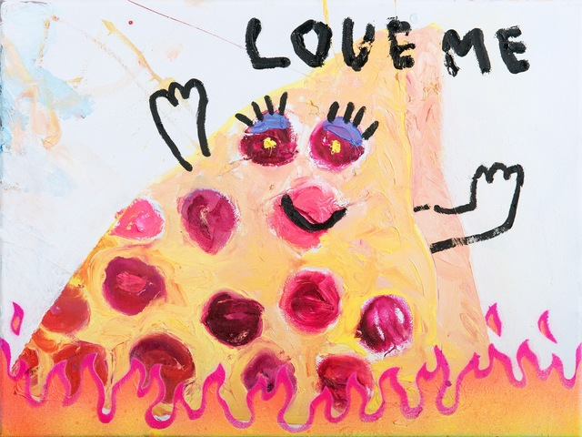 , 'Pizza Hot,' 2019, Freight + Volume