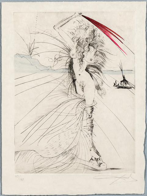 Salvador Dalí, 'Les aigrettes from the suite La Venus aux Fourrures', 1968-69, Skinner