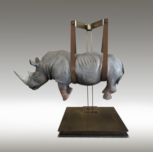, 'Rhino Sospeso,' , Mark Hachem Gallery