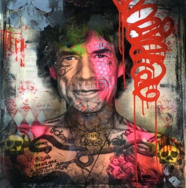 , 'Jailbird Jagger,' 2016, Avant Gallery