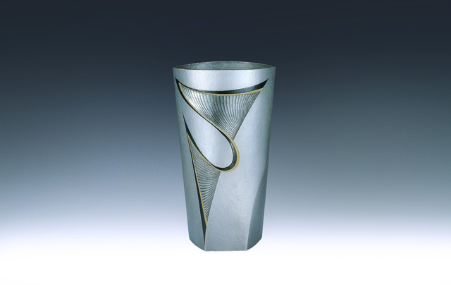 ", 'Silver Vase ""Leap"",' 1998, Onishi Gallery"
