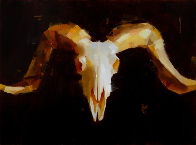 , 'Ram's head,' 2018, Gallerí Fold