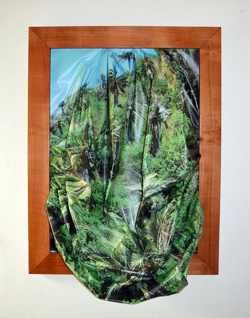 , 'Post apocalypse Hope; Palm trees,' 2017, Panam