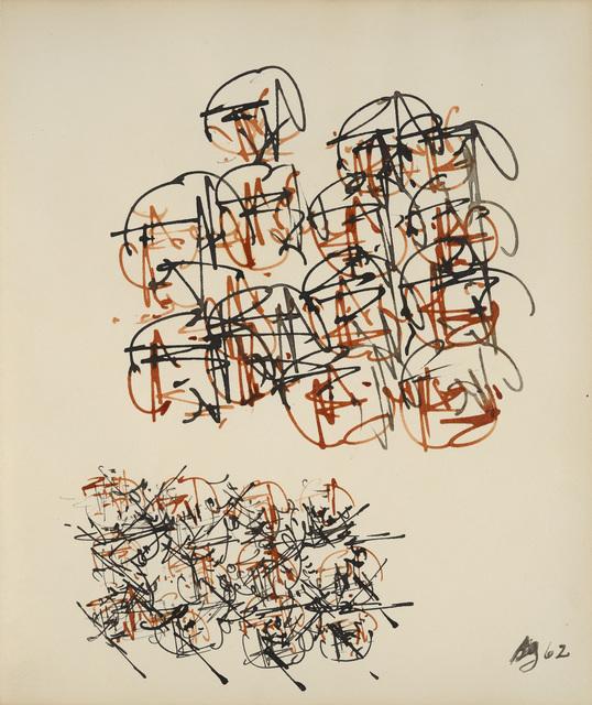 Brion Gysin, 'Sans titre', 1962, Galerie Natalie Seroussi