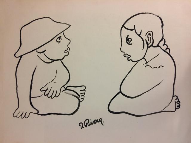 , 'Niños Platicando,' , Galerie AM PARK