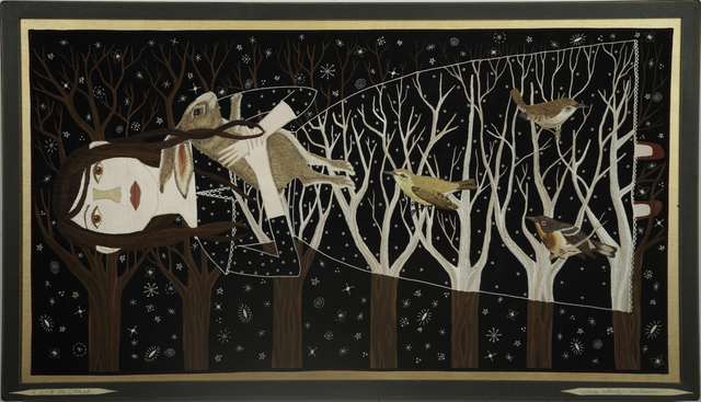 , 'Riding On Trees,' 2013, Antieau Gallery