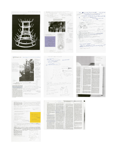 , 'Research Notes 2007-2014,' 2016, Barbara Gross