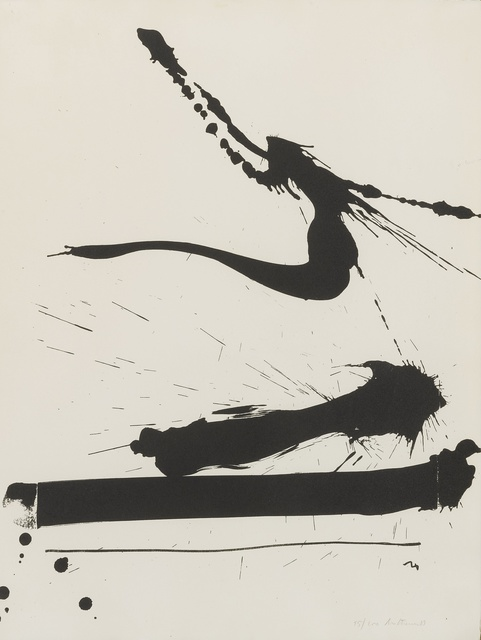 Robert Motherwell, 'Automatism A (W.A.C. 19)', 1966, Print, Lithograph, Sotheby's