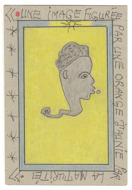 , 'Une image figurée par une orange jaunie par la maturité.,' 2007, Magnin-A