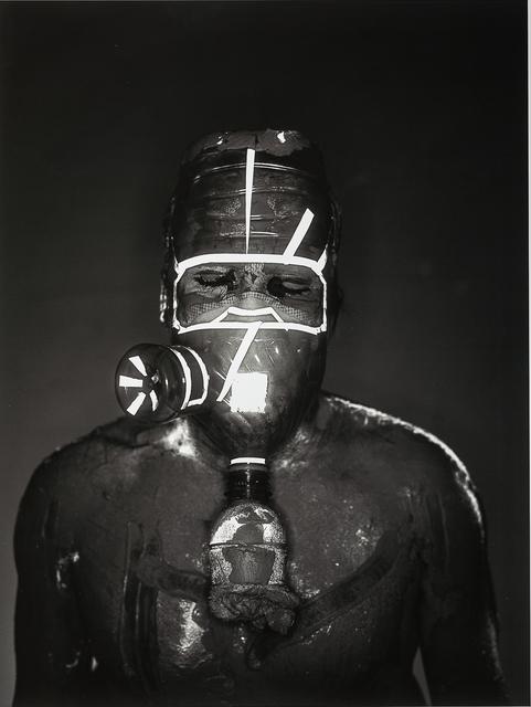 , 'Mask #3,' 2018, Klowden Mann