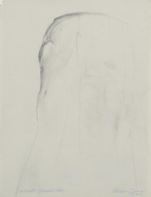 , 'El Capitan - Yosemite Valley,' 1920, Gerald Peters Gallery