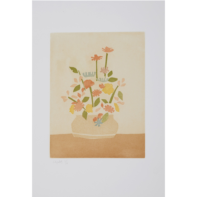 Alex Katz, 'Windflower in a Vase (Small Cuts)', 2008, Weng Contemporary