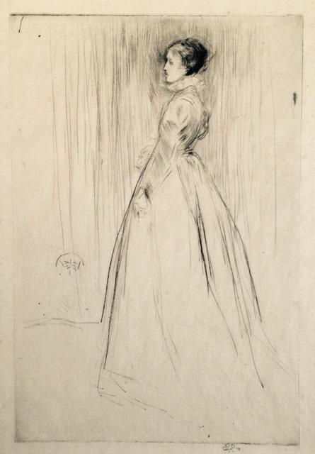 , 'The Velvet Dress,' 1873, Harris Schrank Fine Prints
