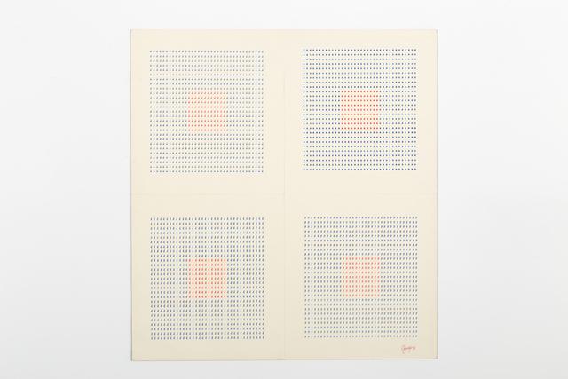 , 'Typecode (Tav.9),' 1978, Richard Saltoun