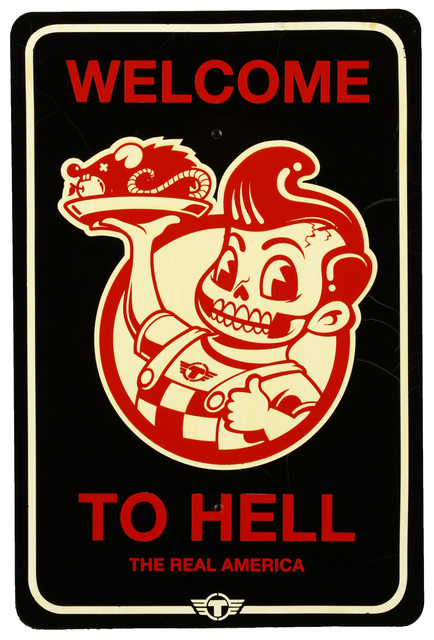TrustoCorp, 'Welcome To Hell', 2012, Chiswick Auctions