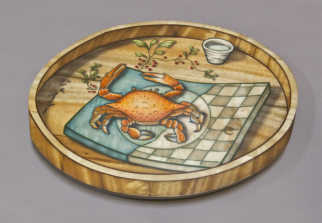 , 'Kegani and Green Tea Tray,' 2007, Gallery NAGA
