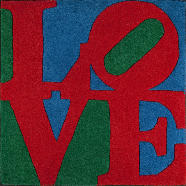 Robert Indiana, 'Classic love Rug', 1995, Art Window