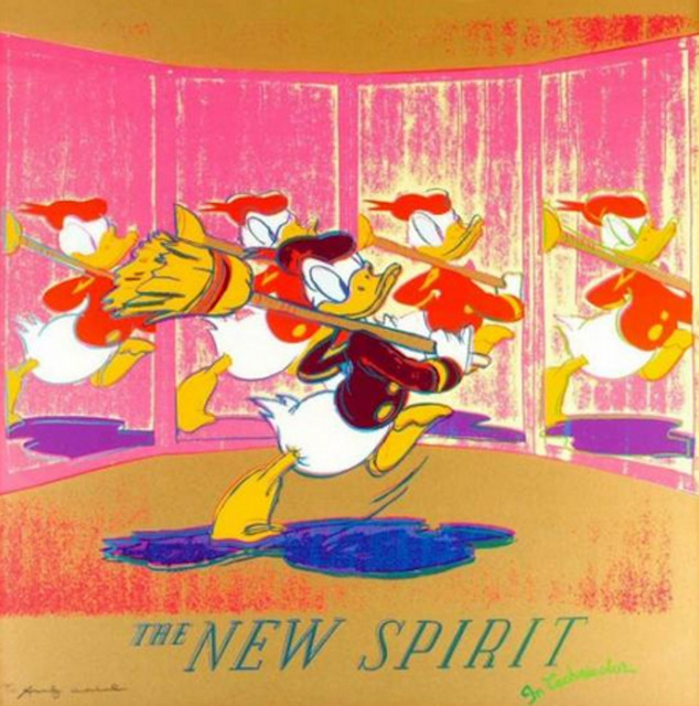 , 'The New Spirit (Donald Duck),' 1985, Maddox Gallery
