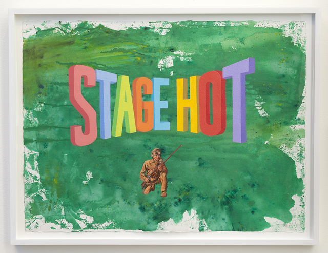 , 'STAGE HOT,' 2016, Joshua Liner Gallery