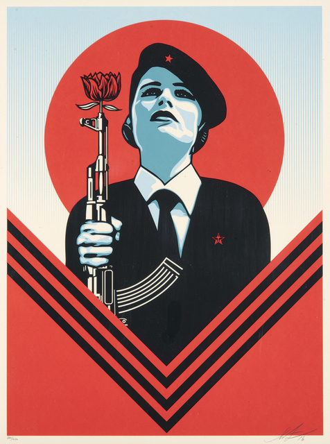 Shepard Fairey, 'Peace Guard 2', 2016, Tate Ward Auctions