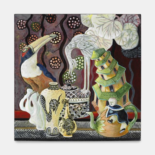 Ellen Lanyon, 'Cloisonné', 2010, Richard Gray Gallery