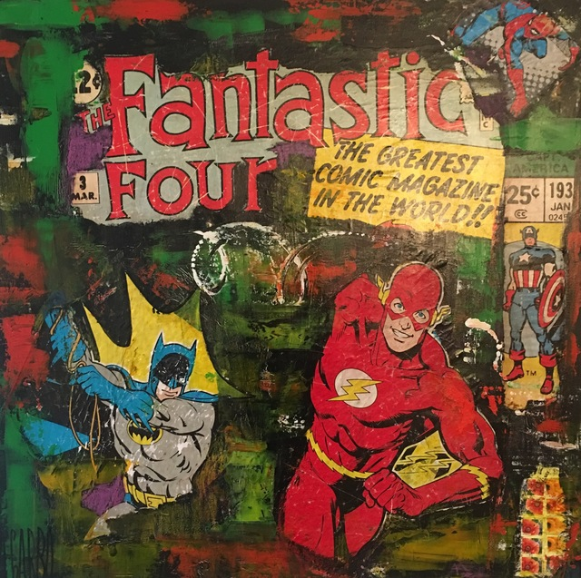 , 'Fantastic Four,' 2017, Samhart Gallery