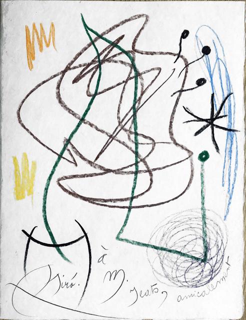 , ' Sans Titre / Without Title,' 1971, Fairhead Fine Art Limited