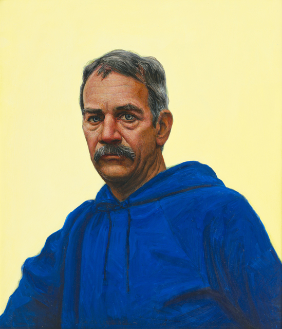 , 'Self Portrait in Blue Hooded Sweatshirt,' 1993, Forum Gallery