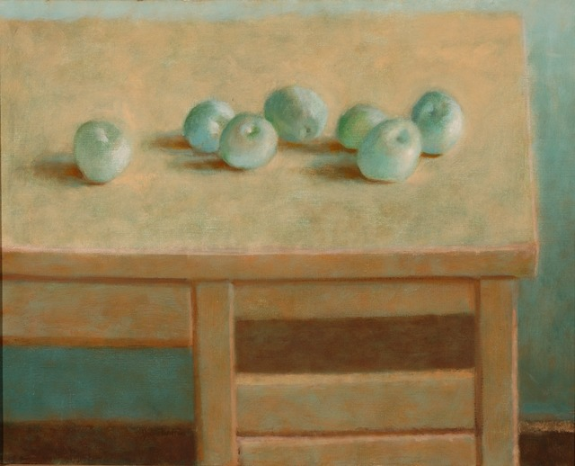 , 'Seven Green Apples,' 1981, Parrish Art Museum