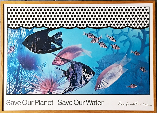 Roy Lichtenstein, 'Save Our Planet Save Our Water ', 1971, Alpha 137 Gallery