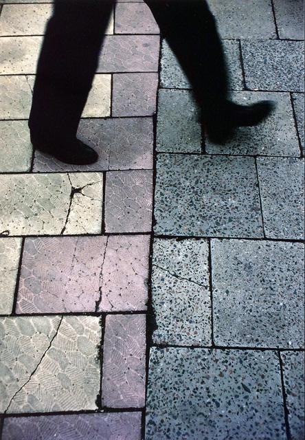 , 'Crossing the Line, Karl-Marx-Allee, East Berlin,' 1982, Inda Gallery