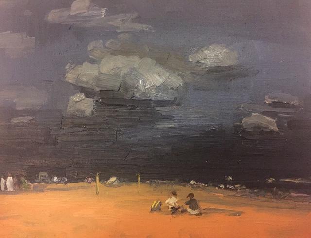 , 'Coney Island After Dark,' 2016, Grenning Gallery