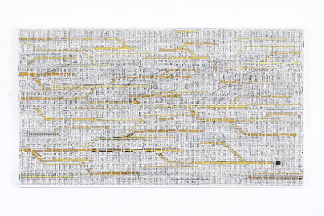 , 'Traffic 1802 (yellow),' 2018, Micheko Galerie
