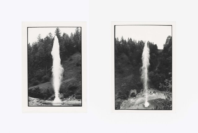 Roman Signer, 'Wassersäule', 1976-1977, Galerie Martin Janda