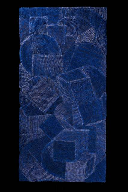 , 'Umbra Azul ,' 2015, La Patinoire Royale / Galerie Valerie Bach