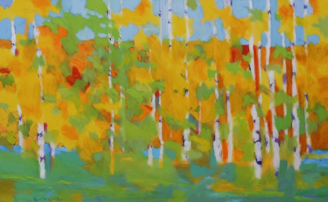 , 'Blue Sky Aspen,' 2017, Diehl Gallery